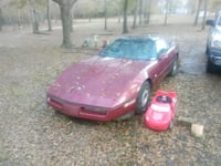 1985 corvette only has bout 5000 mile on engine  544 mi