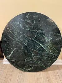 Green Round marble Coffee table top