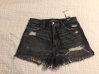 Abercrombie & Fitch High rise shorts NWT Vancouver, V5M 3S6