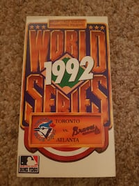 1992 World Series VHS Cambridge