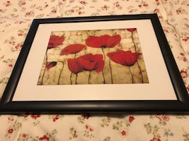 Wall Art Poppies