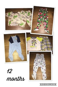 four assorted color clothes collage Barnesville, 30204