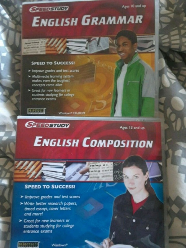 two English Composition textbooks