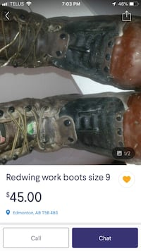Red wing boots Edmonton, T6E 1H9