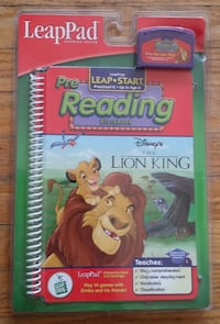 NEW - LeapPad LEAP START Disney The Lion King Book Cartridge BRAND NEW Newmarket