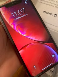 Red IPhone XR 128GB unlocked Temple Hills, 20748
