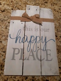 Handmade reclaimed wood sign  Innisfil, L9S 1Z6
