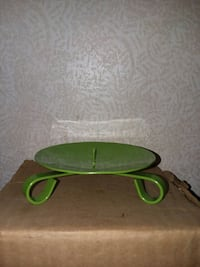 6 new green candle holders Vidor, 77662