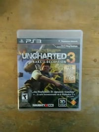 Uncharted 3 PS3 game case South Glens Falls, 12803