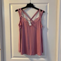 Brand New Pink Swing Tank Sz X