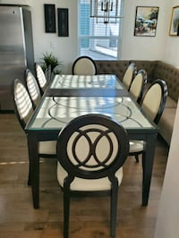 """Dining Set 40"""" x 84"""" with Leaf Great Condition Table & Chairs STURDY Suffolk, 23435"""