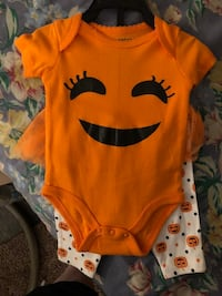 New Halloween outfit 0-3 months Toronto, M4B 2T1