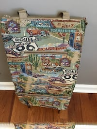 Route 66 Theme Collapsible Suitcase On Wheels Goodlettsville, 37072