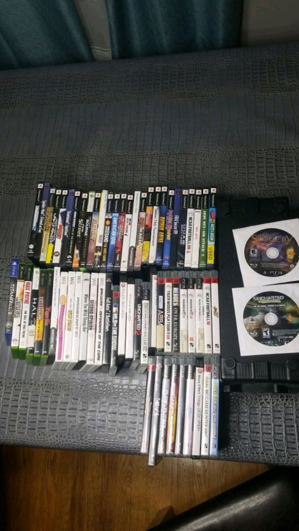 1$ EACH - 60+ Assorted Video Games!  0