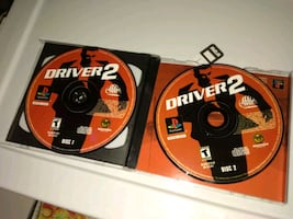 Driver 2 - psone ps1 playstation