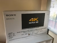 "Sony 49"" 4K Ultra HD Smart LED TV (Brand New) Mountain View"