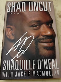 "Global Authentics Shaquille O'Neal Autograph ""Shaq Uncut"" 1st Edition Book Los Angeles, 91325"