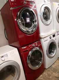 Mix &match front load washer & electric dryer set working perfectly  Baltimore, 21223