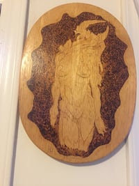 Pyrography handmade picture  Avenel, 07001
