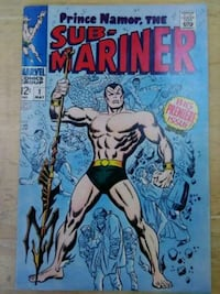 Namor the sub-mariner issue 1 1968 Plainfield, 60586