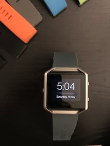 FitBit Blaze + Charger + 10 Bands