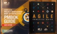 PMBOK 6th Edition + Agile Book - Perfect Condition Vaughan, L4H 2W2