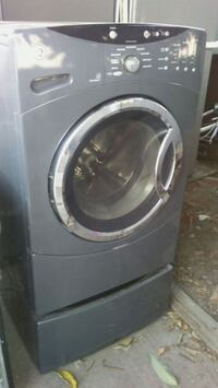 gray front-load clothes washer 2271 mi