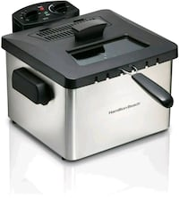 Hamilton-Beach 5 Litre Deep Fryer with Timer, Stainless Steel
