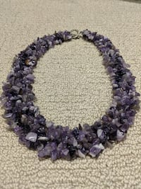 stunning Amethyst necklace! Red Deer, T4R 3L2