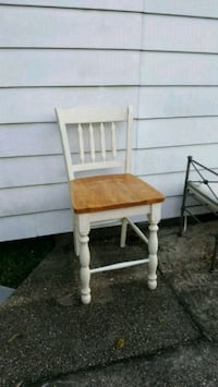 All wood bar height chair Metairie, 70001