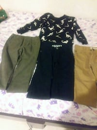 black and gray floral pants Brownsville, 78520