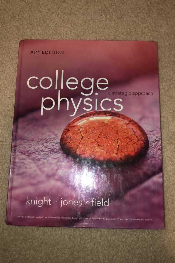 Photo College Physics Textbook