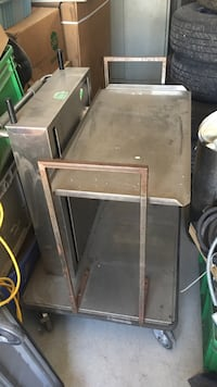 Stainless steel cart on casters Vaughan, L4K 1V5