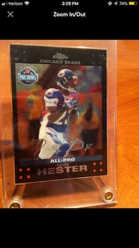 Devin Hester All Pro Sports Card  La Grange Park, 60526