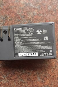 Canon charger and battery