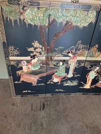 adorable Chinese art /wall or stand on floor panno /4 separated pieces Lee's Summit, 64064