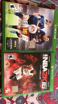 fifa 16 and nba 16 Chevy Chase, 20815