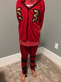 women's red and black traditional dress Delta, V4C 2A2