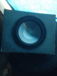 """10"""" clarion sub with ported box Langley, V3A"""
