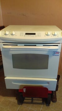 white and black induction range oven McAllen, 78503