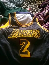 black and yellow Lakers 24 jersey Bell Gardens, 90201