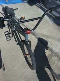 black and red BMX bike Orange, 92869