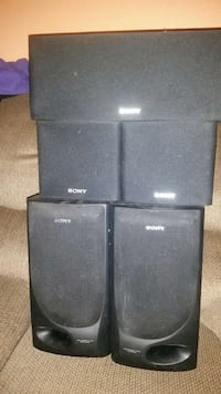 5 sony audio speakers