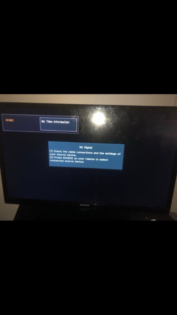 Great Deal $50 , Samsung 35 in tv