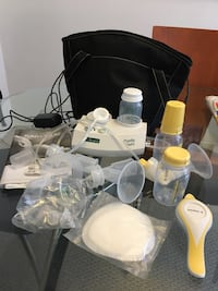 A Eda purely yours Breast pump and Medea hand breast pump set Emeryville, 94608