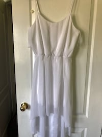 Women's white sleeveless dress( new) Brampton, L6S