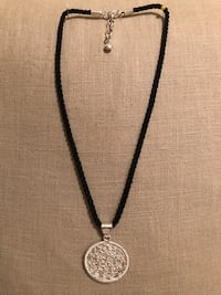 Sterling Silver Medal and black silky cord  Springfield, 22153