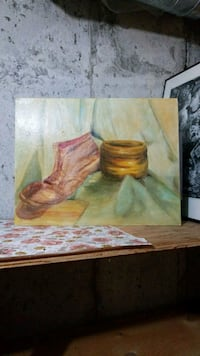 The Old Boot Painting 1964 Vaughan, L4J 4S8