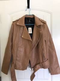 FOREVER 21 FAUX LEATHER JACKET Vancouver, V5P