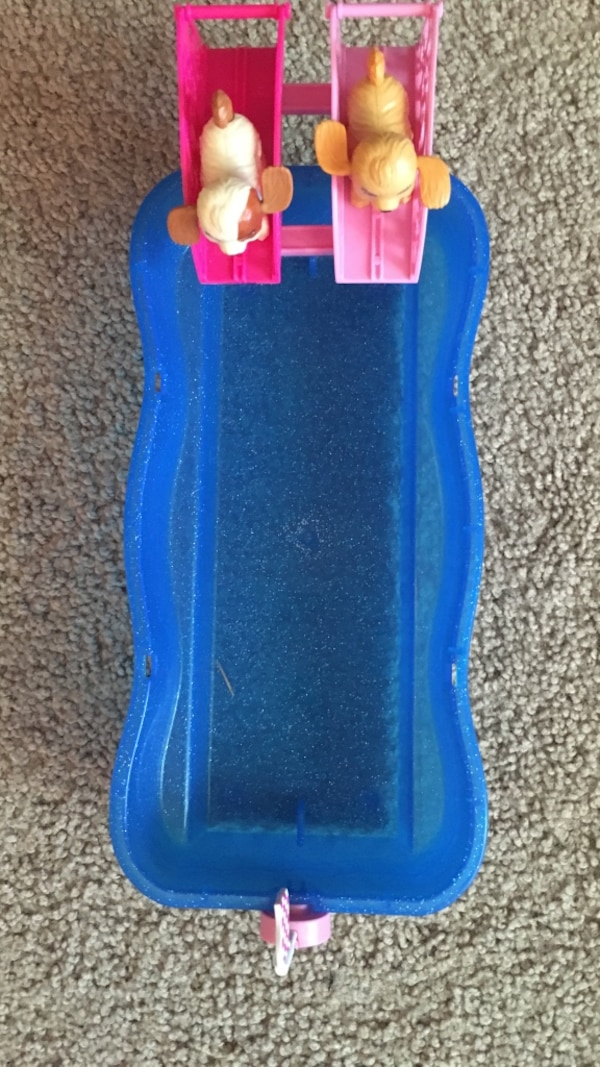 Used Barbie Dog Racing Swimming Pool for sale in Canton - letgo